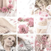 Attractive blond — Stock Photo