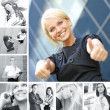Business collage — Stock Photo #15034605