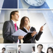 Business collage — Stock Photo #15034619
