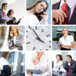 Business collage — Stock Photo #15034971