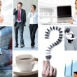 Business collage — Stock Photo #15035399