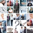 Business collage — Stock Photo #15035479
