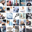 Business collage — Foto de stock #15035505