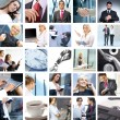 Business collage — Stockfoto #15035505
