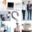 Business collage — Stock Photo #15035509