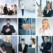 Business collage — Stock Photo #15036439