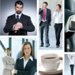 Business collage — Stock Photo #15036471