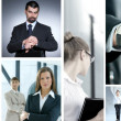 Business collage — Stock Photo #15036493