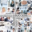Business collage — Foto de stock #15036583