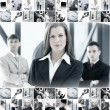 Business collage — Stock Photo #15036687