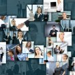 Business collage — Stock Photo #15037053