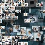 collage de l'entreprise — Photo