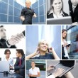 Business collage — Stockfoto #15037667