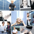 Business collage — Stock Photo #15037667