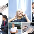 Business collage — Stockfoto #15037693