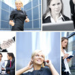 Business collage — Stock Photo #15037719