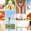 Health collage - Stockfoto