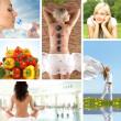 Health collage — Stock Photo