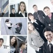 Business collage — Stock Photo #15039281