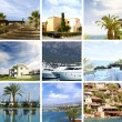 Resort collage - Stockfoto