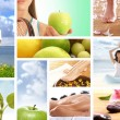 Power of dieting, fitness and sport — Stock Photo