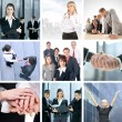 Business collage — Stock Photo #15039713
