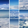 Stock Photo: Aerial view of sky