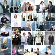 Business collage — Stock Photo #15039885