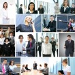 Business collage — Stock Photo #15039903