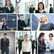Business collage — Stock Photo