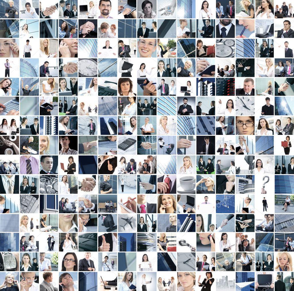 Business collage — Stock Photo © shmeljov #15038481