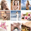 Foto Stock: Spa composition