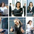 Business collage — Stock Photo #15040619