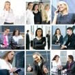 Business collage — Stock Photo #15040639