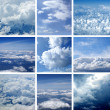 Aerial view of sky — Stock Photo