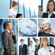 Business collage — Stock Photo #15041081