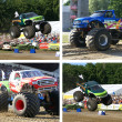 Bigfoot monstertruck - Foto Stock