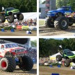 Bigfoot monstertruck - Stock Photo