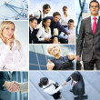 Bright business collage with the team of some — Stock Photo #15041895