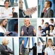 Business collage — Stock Photo #15365811