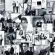 Business collage made of many business pictures — 图库照片