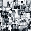 Business collage made of many business pictures — Stock Photo