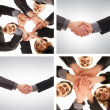 Stock Photo: Unity of business