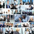 Business collage made of some business pictures — Foto de stock #15363867