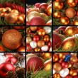 Christmas collage — Stock Photo