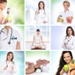 Healthcare collage made of some pictures — Stock Photo #15364021