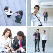 Business collage — Stock Photo #15364143