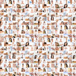 Great collage made of many pictures about health, dieting, sport — Foto Stock