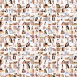 Great collage made of many pictures about health, dieting, sport — Stock Photo