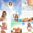 Health care collage made of sume pictures — Stock Photo #15364193